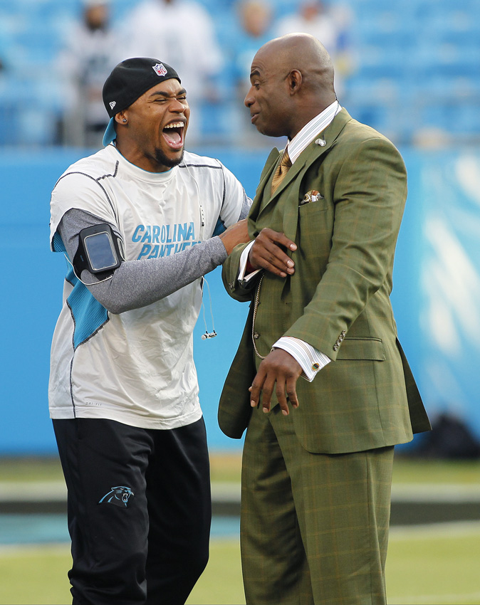 Steve Smith, Deion Sanders